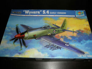 1/48 S.4 WYVERN Early Version RAF Fighter by Trumpeter