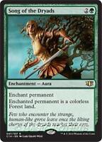 SONG OF THE DRYADS Commander 2014 MTG Green Enchantment — Aura Rare