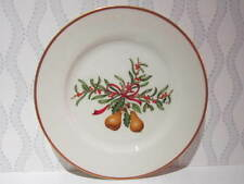 """Queensbury Holiday China Salad Plate 7.5"""""""