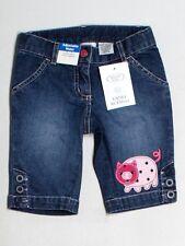 New Toddler Talbots Kids Pig Denim Jean Shorts Farm Fair Petting Zoo Size 2/2T