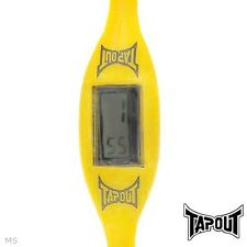 TAPOUT EK-YW MODEL LADIES WATCH WITH YELLOW RUBBER BRACELET #85