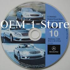 03 04 MERCEDES BENZ SL500 CLK55 SL55 AMG SL600 NAVIGATION NAV MAP DISC CD CANADA