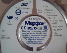 Hard Disk Drive IDE Maxtor QuickView DiamondMax 40 E-H011-02-3427 6E040L07112P3