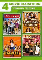 Teen Comedy Collection: 4 Movie Marathon (DVD, 2011, 2-Disc Set) *free shipping*