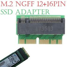 M Key M.2 NVME PCI-e To 12+16Pin AHCI SSD Adapter Card For Mac Air Pro 2013-2017