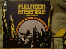 FULL MOON ENSEMBLE Crowded With Loneliness LP/1970 France/Rare Spiritual Jazz