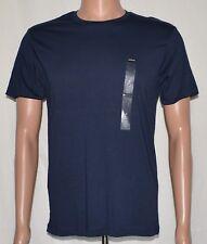 Alfani #5850 NEW Men's Size Small Navy 100% Combed Cotton Short Sleeve T-Shirt