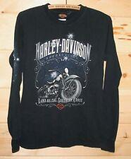 Harley Davidson Motor Cycles Perth Australia Biker Long Sleeve Shirt Adult Small