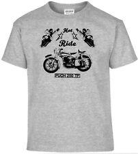 T-Shirt,Puch 250 TF,Pinup,Motorrad,Bike,Oldtimer,Youngtimer
