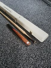 'Cue Craft' Quality handmade 3/4 jointed Regent Cue & Genuine Leather Case NEW