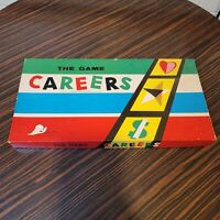 Careers Board Game by Parker Brothers Inc. 1955 VTG NOS New Sealed Pieces