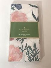 Kate Spade New York - Blossom Napkins - Floral - Set of 4 - NWT