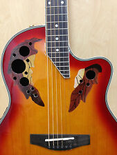 "41"" Caraya Round Back Semi-Acoustic Guitar EQ,Cut-away+Free Gig Bag SP-725CEQ/CS"