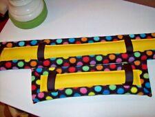 horse drawn buggy,cart,harness Mini /Pony Polka Dot Fleece Harness Pads!