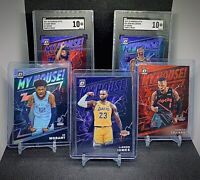2019-20 Donruss Optic My House Zion, Morant, Lebron, Coby and Lillard Prizm Lot!