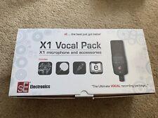 sE Electronics X1S Vocal Pack Studio Recording Condenser Microphone Kit