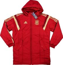 Spain Player Issue Soccer Stadium Jacket Adidas Winter Football Coat Espana BNWT