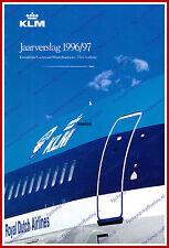 ANNUAL REPORT - KLM ROYAL DUTCH AIRLINES 1996-1997 - DUTCH