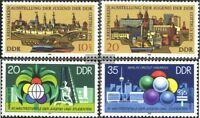 DDR 2343-2344,2345-2346 (kompl.Ausgaben) postfrisch 1978 Briefmarkenausstellung