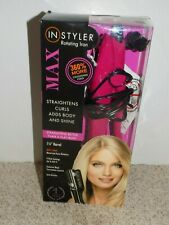"InStyler Rotating Iron Max Straightens Curls 1.25"" Barrel"