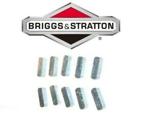 Briggs And Stratton 61760 222698 222698S Pack of 10 Replacement Flywheel Keys