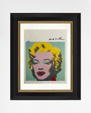 Andy Warhol 1986 Original Print, Hand Signed with Certificate of Authenticity