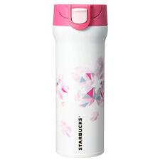 Starbucks Japan 2016 Sakura Cherry Blossom Handy Stainless Tumbler 470ml