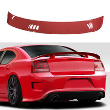 Painted Torred PR3 For 06-10 Dodge Charger SRT Style ABS Rear Trunk Spoiler Wing