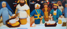 Xmas Nativity Scene Toy KNITTING PATTERN DK Height 20 - 25cm Christmas 10 pieces
