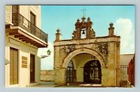 Old San Juan PR, Capilla Del Cristo, Chrome Puerto Rico Postcard