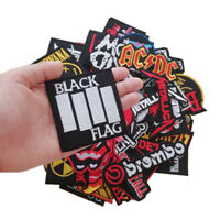 Punk Rock Music Rapper Reggae Mix Band Embroidered iron Sew on Patch lot 18 pcs