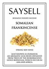 Somalian Frankincense Woody 20 Incense Joss Sticks Agarbatti