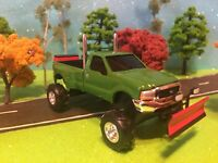 1/64 Scale Custom Lifted, Ford F350 Lariat Super Duty Farm Toy Truck, ERTL