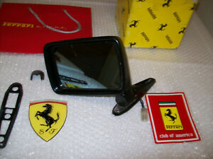 Ferrari 308-Gts-328-Gts- Driver Side Rear View Mirror , Used, P/N is Oem Part.