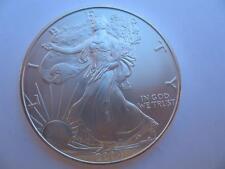 1-OZ..999  2004 SILVER AMERICAN EAGLE LIBERTY DOLLAR B/U FROM MINT TUBE + GOLD