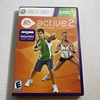 EA Sports Active 2: Personal Trainer - Xbox 360 Game - Complete Video Game