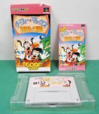 SNES -- GOOF TROOP Goofy Max -- Boxed. Super famicom, Japan. 14252