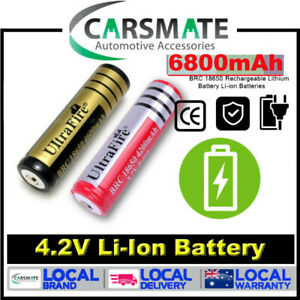 2 x Ultrafire PCB BRC 6800mAh  7V Rechargeable Lithium Li-ion Battery