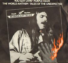 Frank Marino & Mahogany Rush - Fourth Degree Burns (EP Vinyl '80) Cut-Out, Rar!