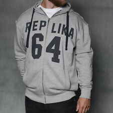 Replica Jeans King Size Hoodie/Grey - 5X