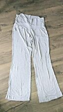 A PEA IN THE POD Gray Maternity Pants with Adjustable Belly Size Large EUC