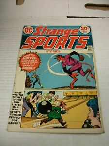 DC Comics STRANGE SPORTS STORIES #1 September/October 1973