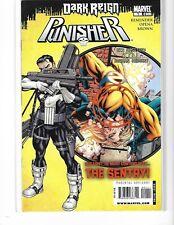 DARK REIGN PUNISHER #1 -1ST APPEARANCE COVER SWIPE !