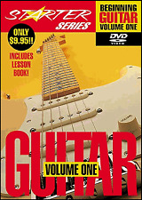 Beginning Guitar Volume 1 DVD & Booklet Learn How To Play Tutor Rock Blues