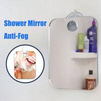 Fog Free Shower Mirror Anti-Fog Fogless Shaving Mirror Bathroom Washroom 173x132