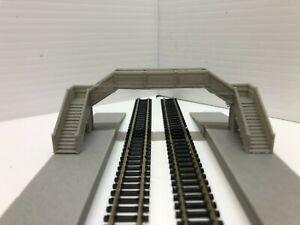 N Gauge Platform Foot Bridge (Double Track)