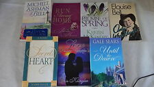 LDS Mormon Authors Novels Books Lot 7 Romance Bell Jolley Sears Hansen McKendry