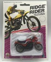 Vintage ZEE Toy 1986 Ridge Rider Motorcycle Diecast Kawasaki FREE SHIPPING