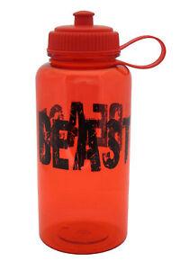 32oz Sport Water Bottle - Motivation Message RED - BPA Free Tritan