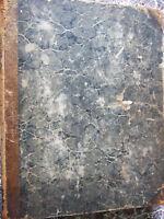 Large 1832 Bound New York Mirror Literary & Arts Journals~ Frankenstein, Cholera